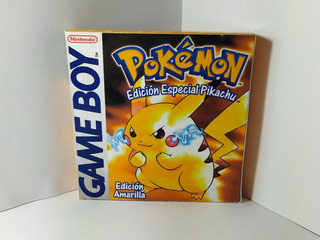 Pokemon Amarillo Español Empaque Custom Pokemon Store Chile