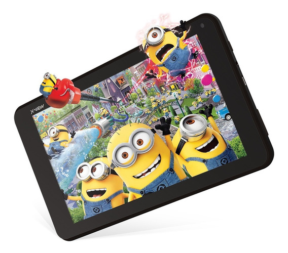 Tablet 7 Pulgadas X-view Proton Neon Quad Negro 8 Gb