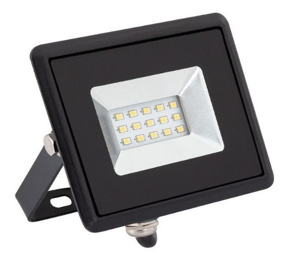 Reflector Led 10w 220v Blanco Frio Potente Exterior