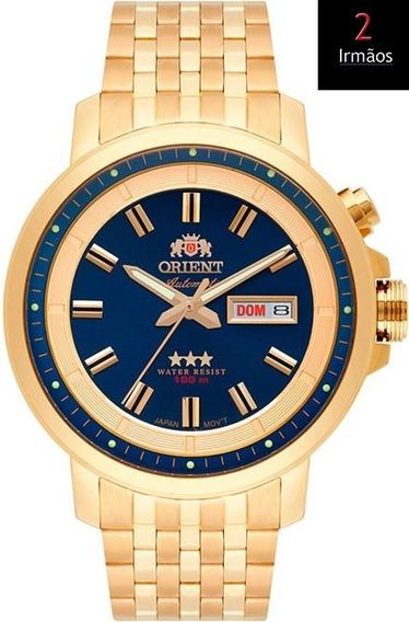 Relógio Orient Dourado Automático 469gp079