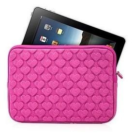 Capa Protetora Tablet E iPad 7 A 7,8 Polegadas Rosa Coração