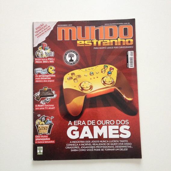 Revista Mundo Estranho 118 A Era De Ouro Dos Games