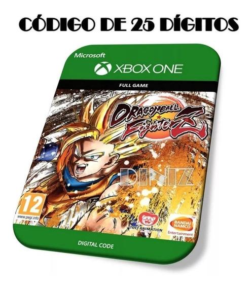 Dragon Ball Fighterz Xbox One Digital Código De 25 Dígitos