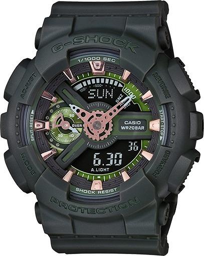 Relógio G-shock Verde Militar Gmas110cm-3a