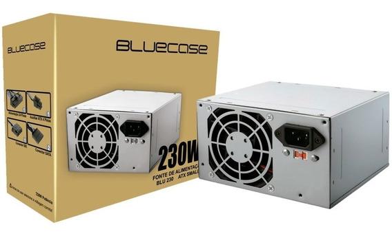 Fonte Atx 230w Bluecase Blu Small - Blu230atx