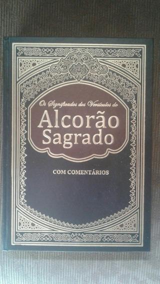 Alcorão Original De Luxo Com Notas Explicativas & Capa Dura