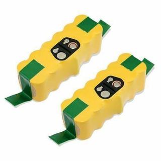 2 Piezas 3500mah Batería Para Irobot Roomba 500 600 700-9403