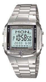 Relógio Casio Data Bank Prata Db-360-1adf Vintage Original