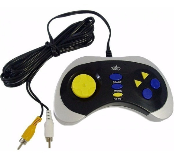 Video Game Compacto Com 76 Jogos 8 Bits Na Memoria Barato