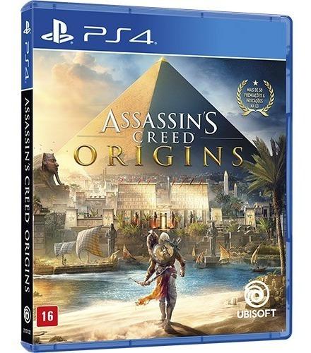 Assassins Creed Originsps4 Mídia Física Em Português