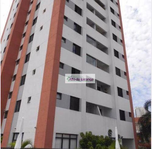 Apartamento Com 2 Dormitórios À Venda, 54 M² Por R$ 480.000,00 - Bosque Da Saúde - São Paulo/sp - Ap3064