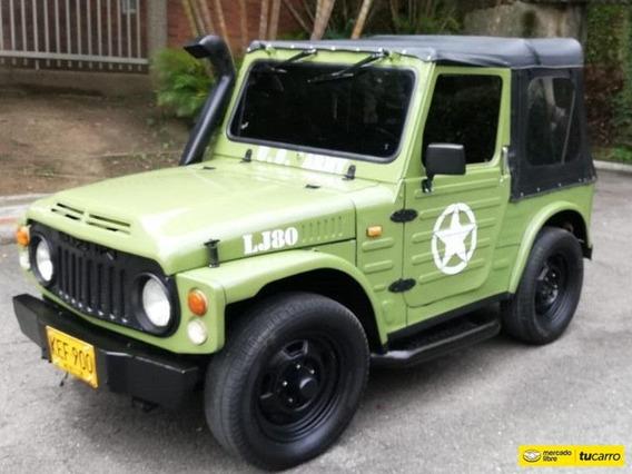 Suzuki Lj 80 Lj 80 4x4 Carpado