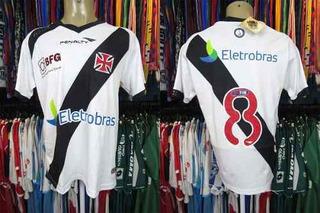 Vasco Da Gama 2013 Camisa Titular Tamanho M Número 8.