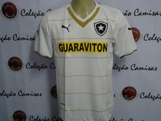 Camisa Botafogo 2014 Oficial Puma Branca Manga Curta S/n
