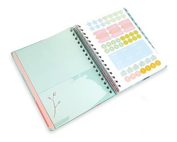 Kit Planner A5 La Bela Ótima Gráfica + Caneta Gel Newpen
