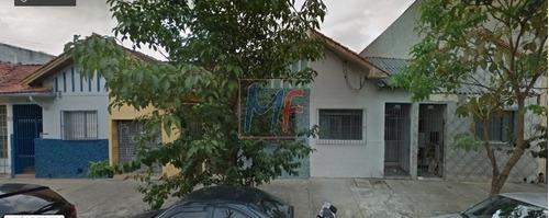 Imagem 1 de 11 de Ref: 11.184 Ótimo Terreno Com Casa Antiga Ideal Para Demolição Com 172 M² De Terreno E 120 M² De A.c, No Cambuci. Zoneamento: Zeis-3. - 11184