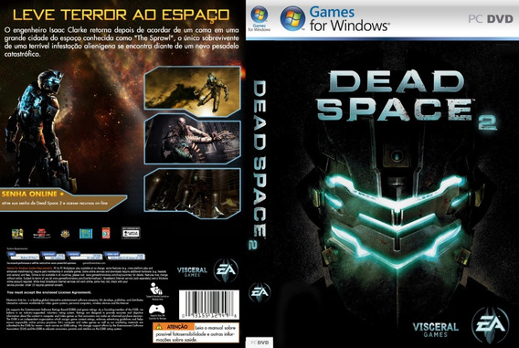 Pc Dvd-rom Jogo Dead Space 2 Original Lacrado Black Label