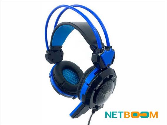 Fone De Ouvido Headset Gamer C/ Microfone P2 Ghx30 Led