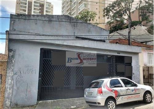 Imagem 1 de 7 de Galpão, 550 M² - Venda Por R$ 1.715.000,00 Ou Aluguel Por R$ 8.500,00/mês - Vila Formosa - São Paulo/sp - Ga0147
