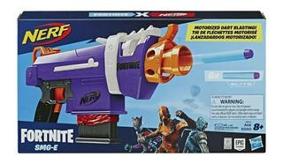 Lanzador Nerf Fortnite Smg-e Motorizada Arma Original Hasbro
