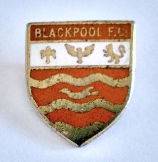 Pin Esmaltado Blackpool Fútbol Club