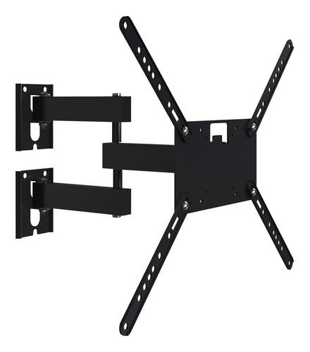 """Suporte Multivisão M3 de parede para TV/Monitor de 14"""" até 58"""" preto"""