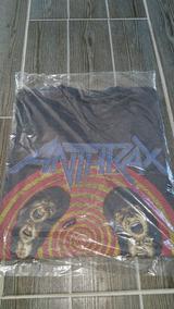 Playera Anthrax State Of Euphoria De 1988 Vintage Antigua