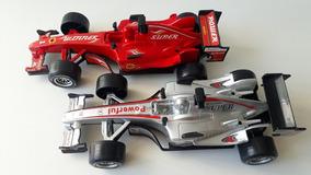 Carrinho Fórmula 01, Com Sons Reais De Corrida!