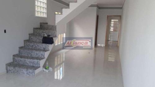 Sobrado Com 3 Dormitórios À Venda, 140 M² - Vila Progresso - Sorocaba/sp - Ai18413