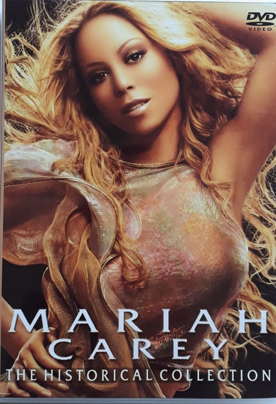 Mariah Carey Historical Collection 4 Dvds Legendado Frete Gr
