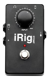 Interfaz De Audio Pedal Ik Multimedia Irig Stomp - Cuotas