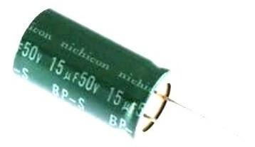 Capacitor 15uf 50v Eletrolíticos Radial 5 Unidades