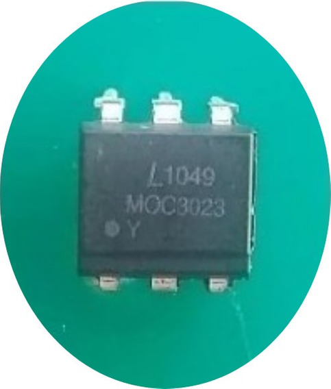 Moc3023 Optoacoplador Circuito Integrado (10 Pçs)
