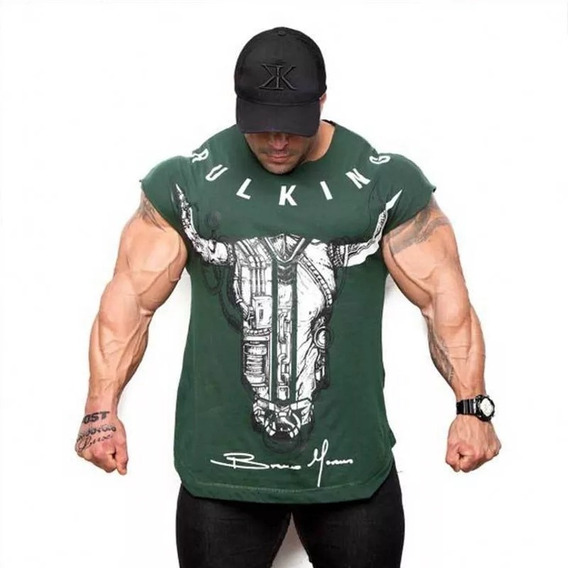 Playera Fisicoculturista Bodybuilder Gym Crossfit Fitness