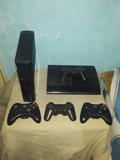 Vendo O Permuto Xbox360 Slim Y Playstation 3 Super Slim
