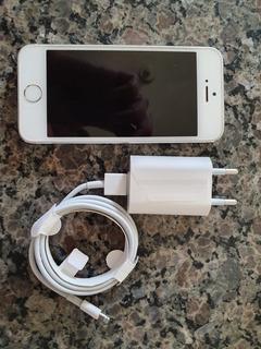 iPhone Original 5s Prata 16gb Usado ( Em Condições De Novo)