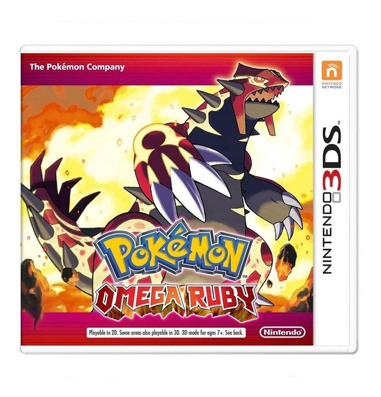 Pokemon Omega Ruby - 3ds - Usado - Original