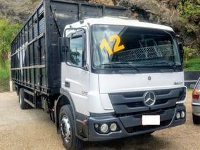 M Benz, Atego 1719, 2012, Boiadeiro!!! Gaiola 8,80 Metros!!!
