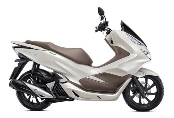 Honda Pcx150 Beige 2020 0km Avant Motos