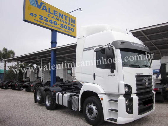 Volkswagen Constellation 25-420 - Trucado - 6x2 - 2016