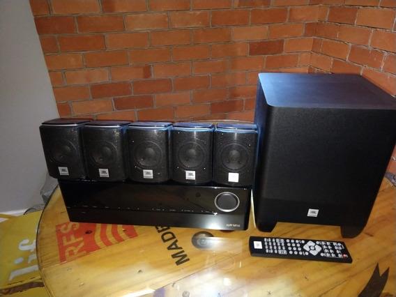 Sistema De Som 5.1 Jbl (receiver Avr 1010 + Home Theater)