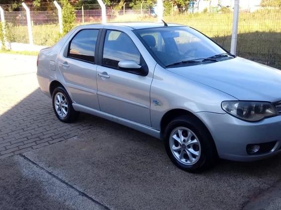 Fiat Siena 2007 / 1.4 Com Gnv De Fabrica Completo.