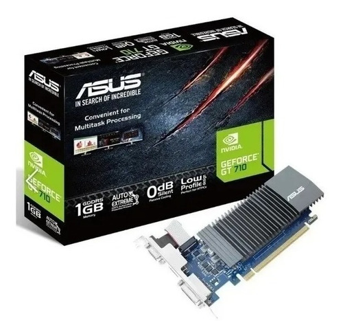 Tarjeta Video Asus Gforce Gt 710 Ddr5 1gb   Brk