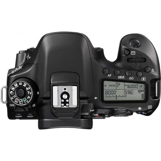 Câmera Profissional Canon Eos 80d Dslr Apenas Corpo