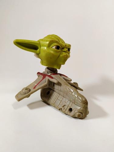 Boneco Mestre Yoda Star Wars Mc Donalds