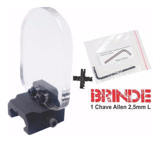 Protetor De Red Dot Mira Telesc -trilho 20 Lente 6 + Brinde