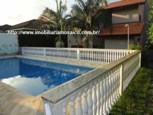 Imagem 1 de 29 de Casa Em Condomínio Fechado, Alto Padrão, Aquecimento Solar, 03 Suites, 08 Vagas - 76621 - 4491264
