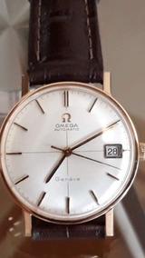 Relógio Omega Seamaster Genéve Ouro 18kl Raríssimo.