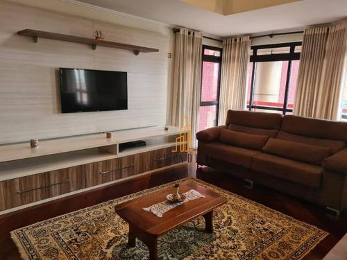 Imagem 1 de 30 de Apartamento Duplex Com 4 Dormitórios À Venda, 298 M² Por R$ 2.226.000,00 - Vila Bastos - Santo André/sp - Ad0007