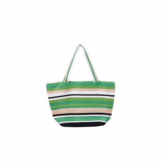 Bolsa De Praia Amaralina Verde - Mor